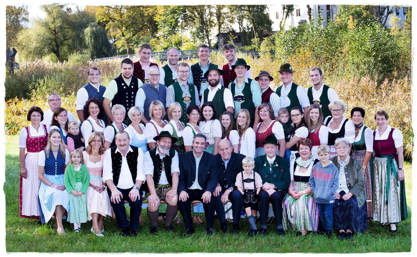 Gruppenbild Jubiläum 2020